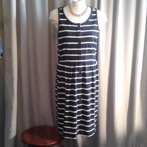 j.crew sailor dress. xl.